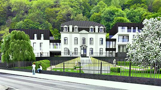 Zest RED Namur Villa Legrand investissement immobilier