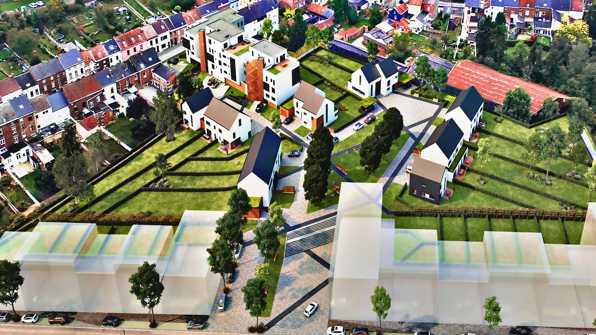 Zest RED Pont-à-Celles - APAC investissement immobilier