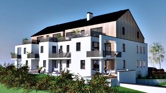 Zest RED Ophain investissement immobilier